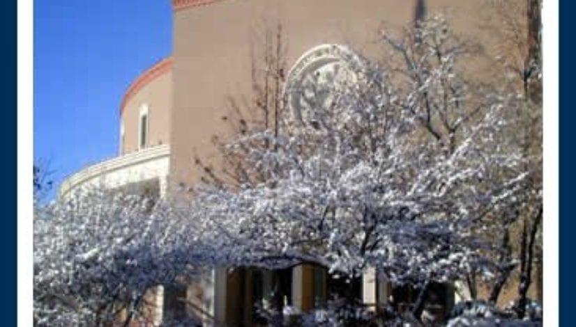 Snowy Santa Fe