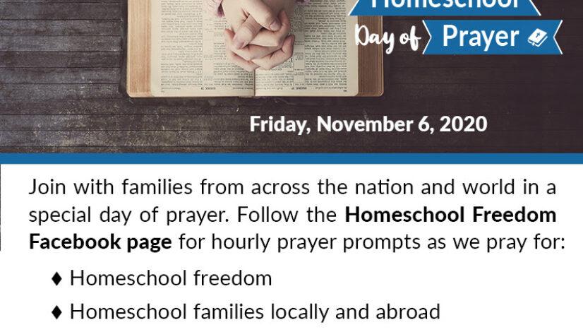 National Homeschool Day of Prayer